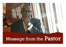 Message from the Pastor